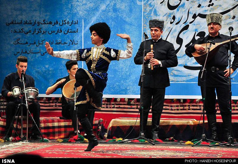 تصاویری از بزرگداشت شاعر بزرگ سعدی شیرازی 1394