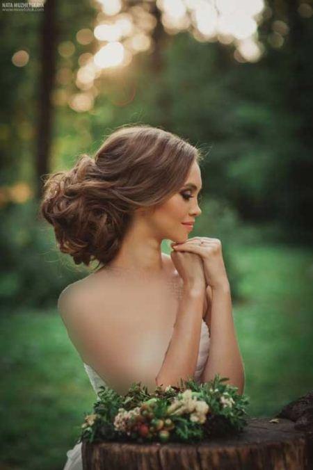 نمونه های جدید مدل موی عروس 2017