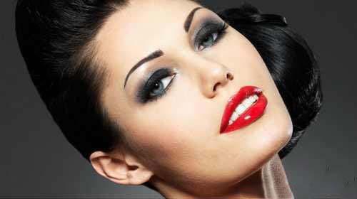 جدیدترین مدل میکاپ و آرایش مجلسی صورت 2015