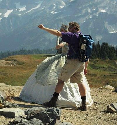 تصاویر جالب از پرنسس کوه نورد