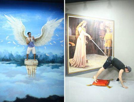 تصاویر فانتزی سه بعدی در نمایشگاه فیلیپین