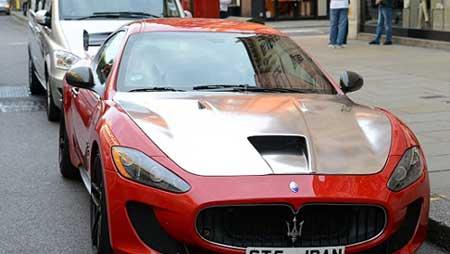 ماشین های گران بهای عرب ها در لندن
