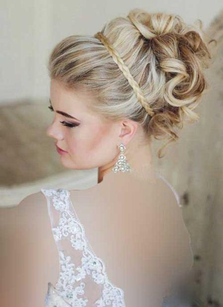 نمونه های جدید مدل موی عروس 2015