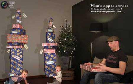 تصاویر خلاقانه ای را از دوقلوهای ثروتمند هلندی