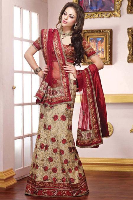 لباس مجلسی زنانه هندی با طرح ها و رنگ های متفاوت