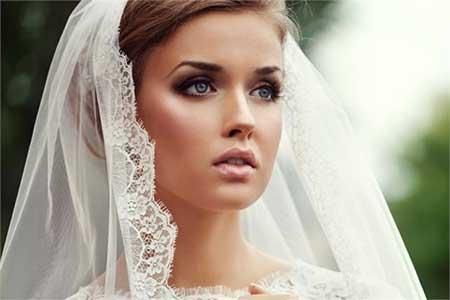 راز زیبایی یک عروس در شب عروسی