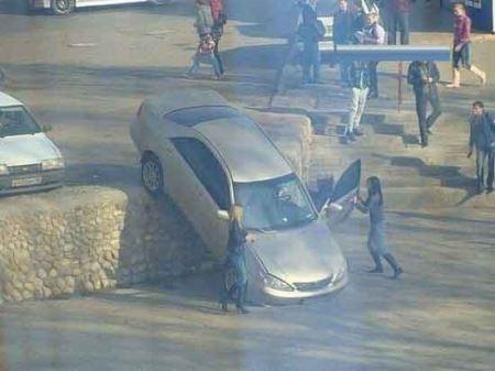 عکس هایی از بدشانسی های عجیب و غریبب ماشینی
