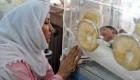 زایمان یک زن باردار در تریلی یک تراکتور