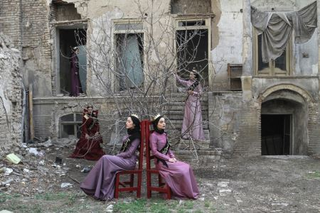 عکس گروهی از دختران شایسته ایران