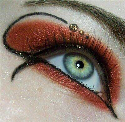 آرایش چشم فشن مدل 2015