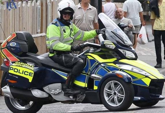 عکس خودرو جدید پلیس های لندن