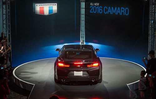 رونمایی شورولت از خودرو کامارو 2016