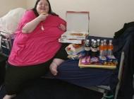 وزن این زن به 254 کیلوگرم رسیده است