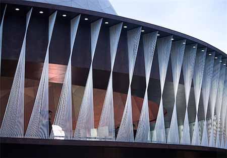 ساختمانی مدور طراحی شده توسط شرکت اسنوهِتا
