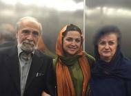 چهره های مشهور ایرانی در کنار پدر و مادرشان