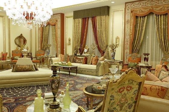 مدل دکوراسیون زیبای خانه های عربی