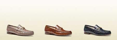 کلکسیون کفشهای اسپرت مردانه Gucci بهار 2015