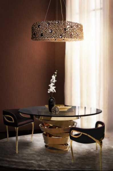 اتاق غذاخوری خاص و زیبا دکوراسیون 2015
