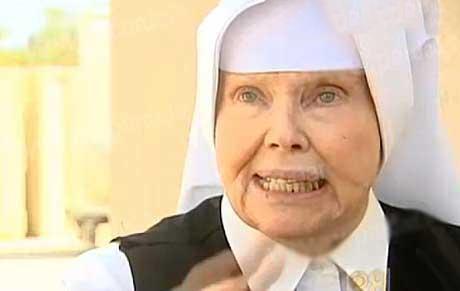 راهبه ای مشهور در زندان زنان