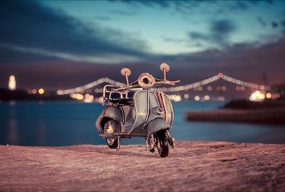 ماشین ها و موتور سیکلت های مینیاتوری فانتزی بسیار زیبا