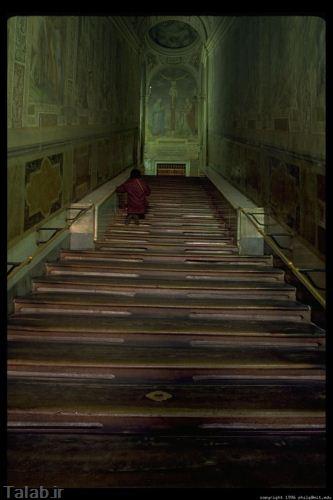 پلکان های طولانی که جان آدم را می گیرند + تصاویر