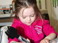 تصاویر حیرت انگیز از دختر کوچولو تاتو کار
