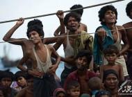 تصاویر غم انگیز از فرار مسلمانان میانمار
