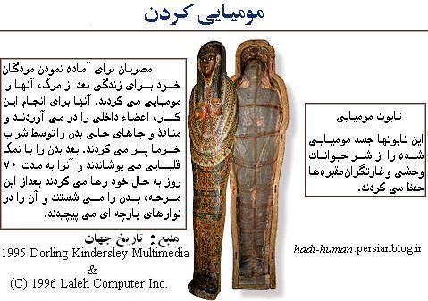 مومیایی کردن اجساد و هزینه آن در ایران