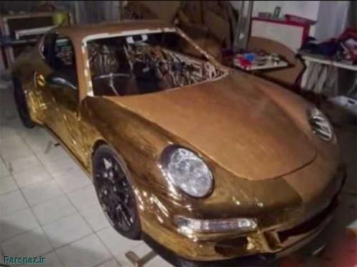 جوانی خلاق با قطعات بازیافتی یک پورشه GT3 911 ساخت