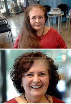 زنی که از دهه 60 دیگر به آرایشگاه نرفت