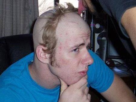 عکس خنده دار از مدل مو های مسخره