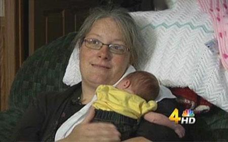 زوج خوش شانس که بعد 5 ساعت بچه دار شدند