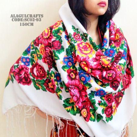زیباترین مدل های روسری سنتی ترکمنی