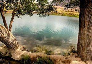 آشنایی با دریاچه و چشمه زیبای غربال بیز در یزد