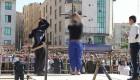 تصاویر شلاق خوردن آدمخوار کرجی در ملأعام