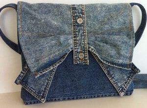 ایده های ساخت کیف جین با استفاده از شلوارهای لی