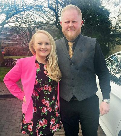 این زوج با وزن کم کردن در عروسی بسیار زیبا و جذاب شدند