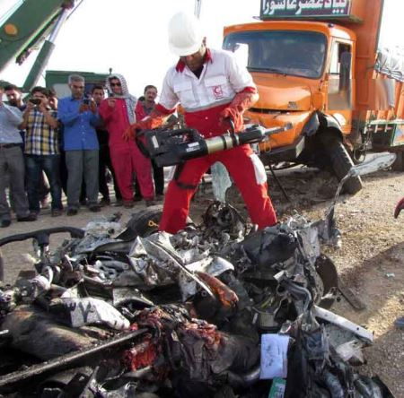 تصاویری از بدترین تصادف های 1394 در ایران