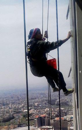 عکس شجاع ترین دختر جذاب تهرانی