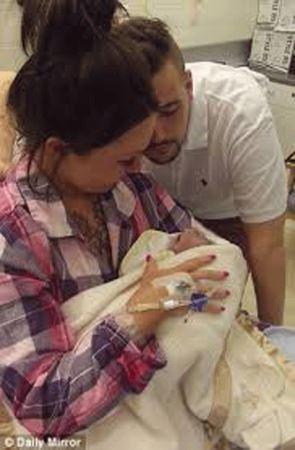 این نوزاد با بیماریش به چندین نفر زندگی دوباره بخشید
