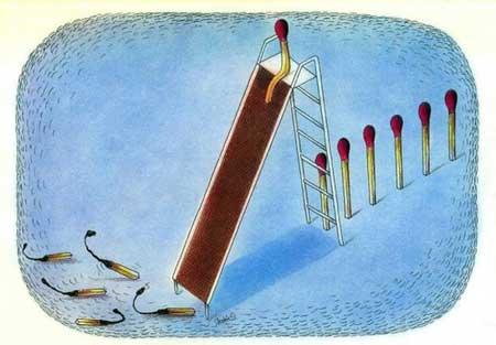 کاریکاتورهای زیبای مفهومی از اجتماع