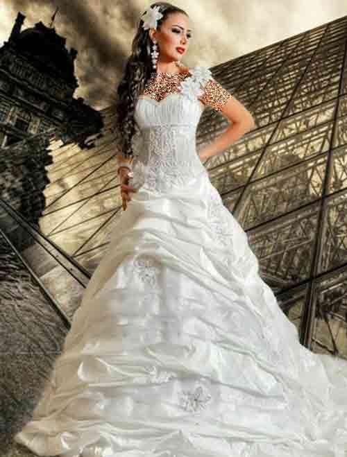 مدل های زیبای لباس عروس مانکنی 2015