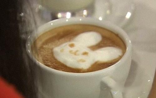 فنجان های قهوه بسیار هنرمندانه