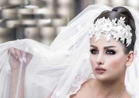 جدیدترین مدل های شنیون عروس 2015 و 1394