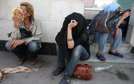 افشای چهره و دستگیری مردان زن نما در تهران