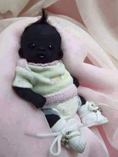 معروف ترین نوزاد قرن 21 به مشکی بودن