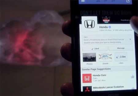 رعد و برق عامل به روز شدن شبکههای اجتماعی