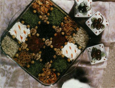 ایده های زیبا برای تزئین حلیم بادمجان و کشک بادمجان