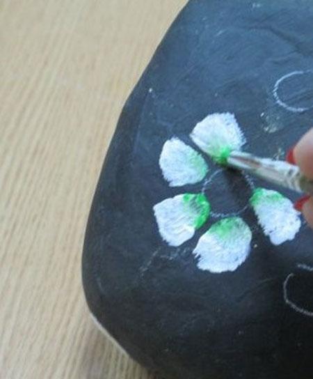 آموزش جالب و درآمدزا نقاشی روی سنگ