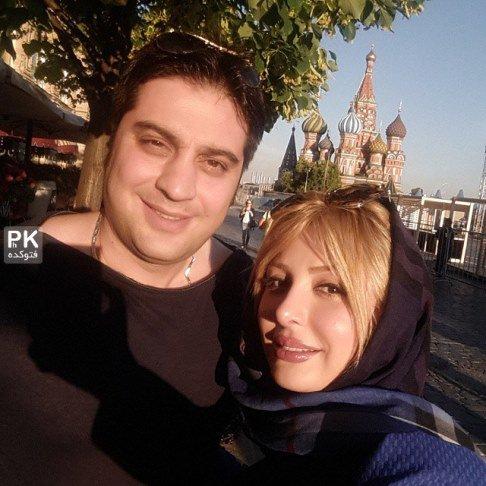 نیوشا ضیغمی و همسرش در فستیوال فیلم مسکو به روایت تصویر